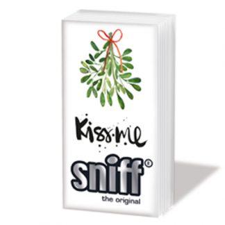"SNIFF Taschentücher ""KISS ME"""