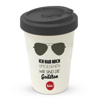 """coffee2go Becher """"wir sind die Geilsten"""""""