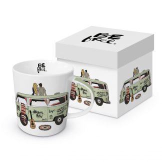 """Tasse """"Freiheit - Bulli"""" mit Geschenkbox"""