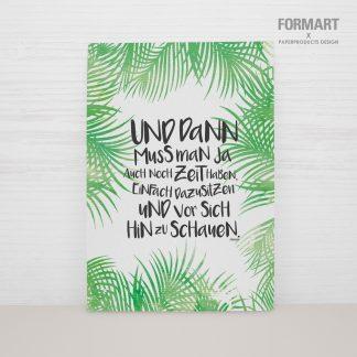 """Postkarte """"Zeit"""""""