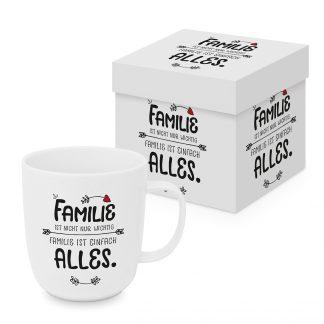 Tasse Familie ist nicht wichtig, Familie ist alles